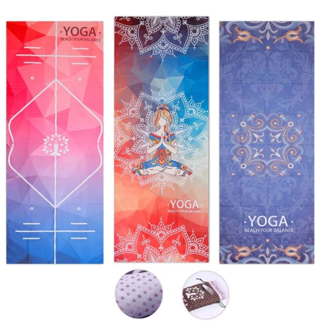 Washable Microfiber Towel Yoga Mat
