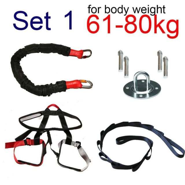 Bungee Aerial Resistance Workout Band Gym Equipment
