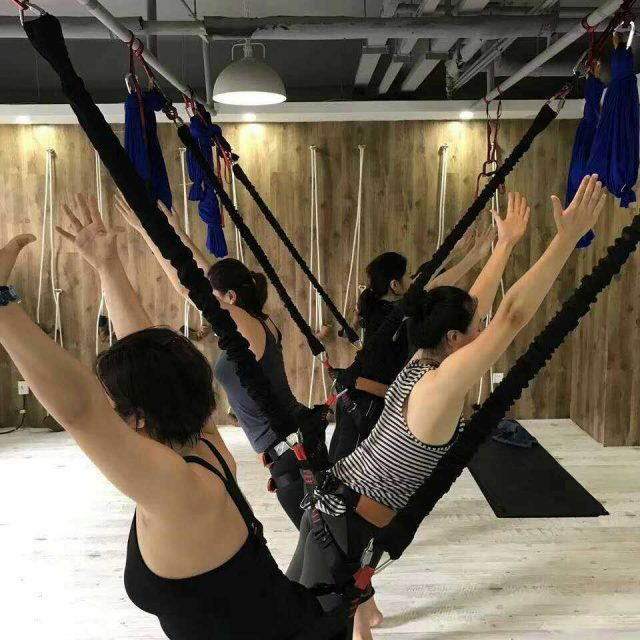 Dance Workout Aerial Suspension Gym Equipment