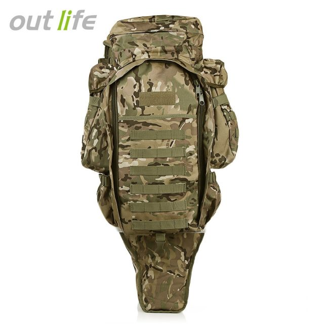 Outlife 60L Outdoor Military Style Backpack Rucksack